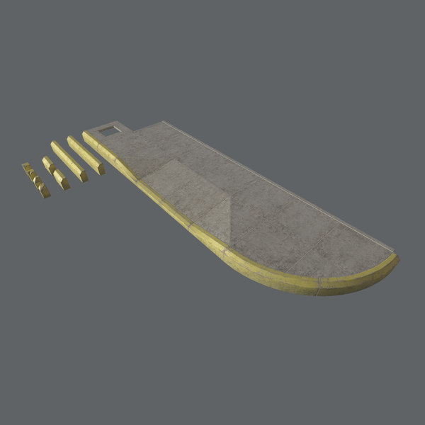 modular set sidewalk - 3D