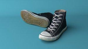 3D converse shoes
