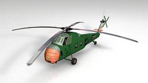 3D uh blackhawk helicopter model