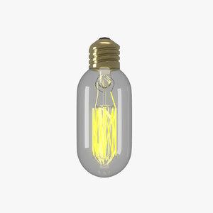 bulb modelling 3D model