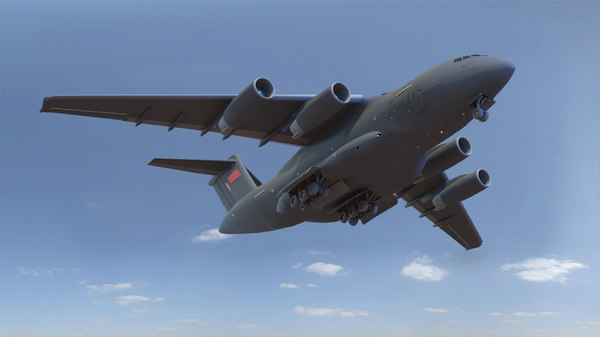 china y-20 3D model