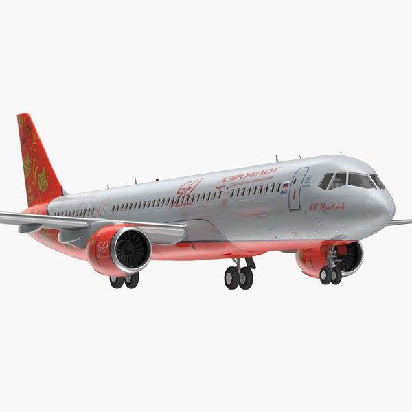 3D model irkut mc 21 300