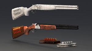 s686 gun low-poly 3D model