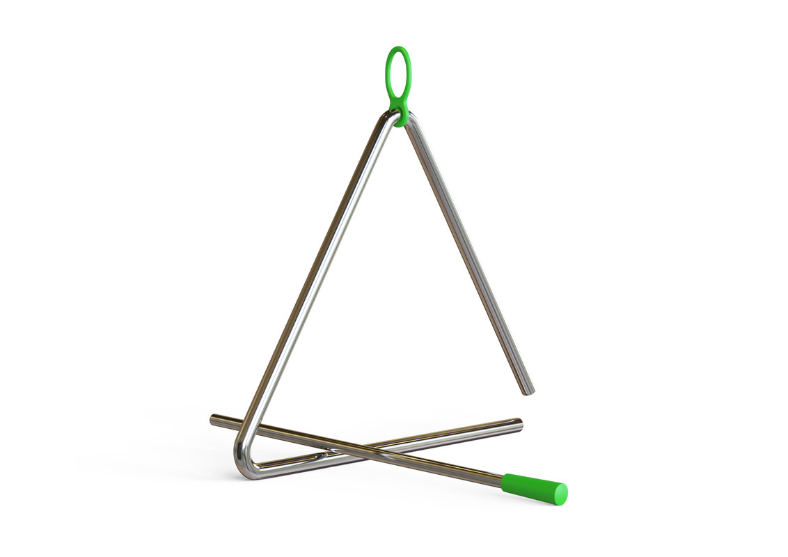 3D model triangle games