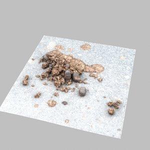 poop poo horse 3D model