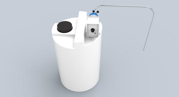 3D chemical tank emec dosing