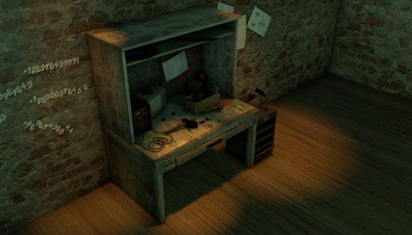 workbench games tv 3D model