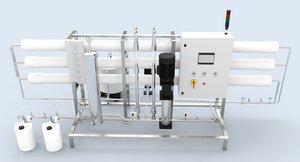 reverse osmosis unit ro 3D