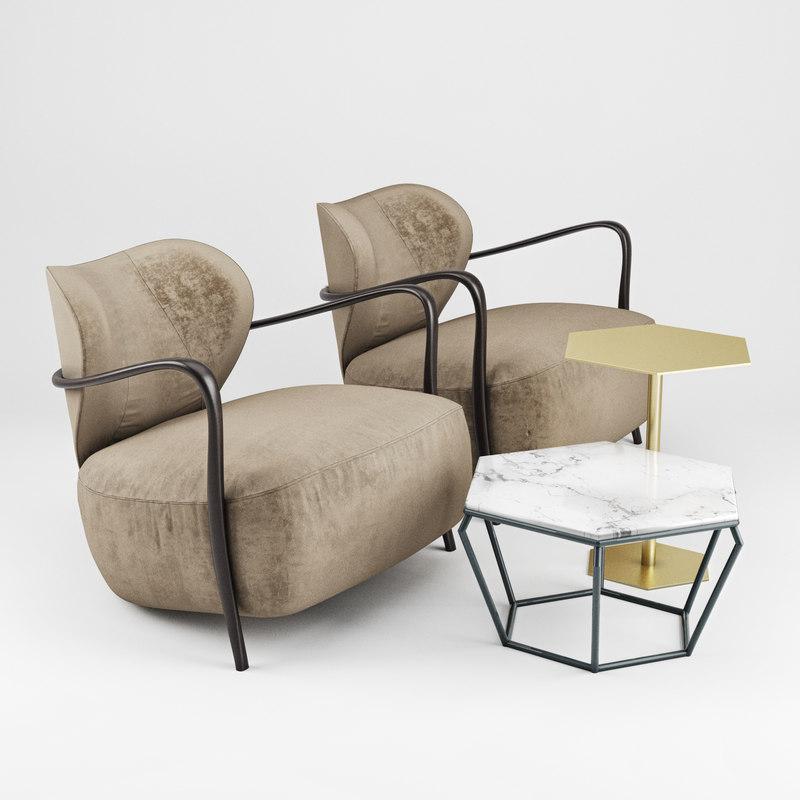 3D lady bug chair