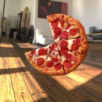 pizza engine 3D model