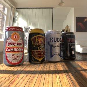canbodia beer 3D model