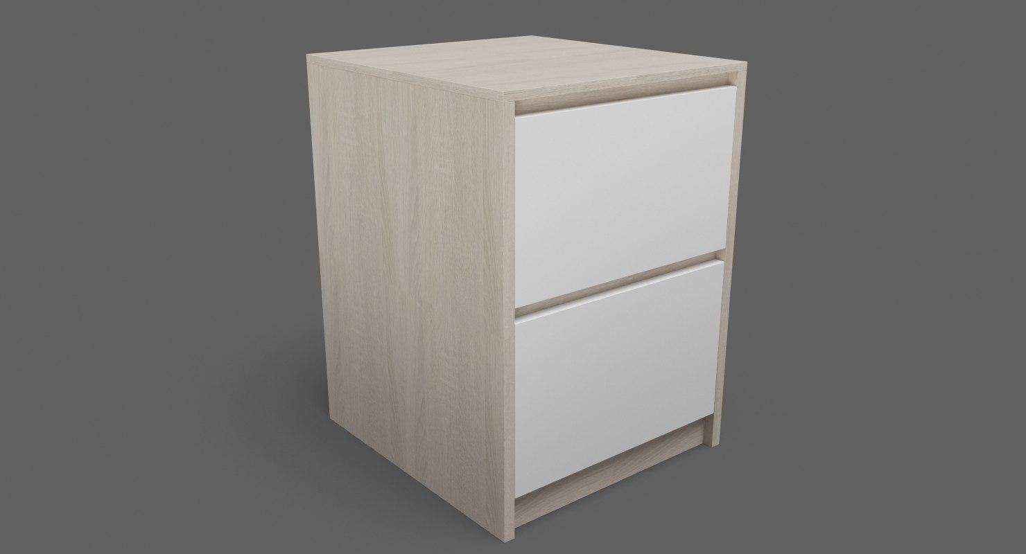 3D bedside table 05