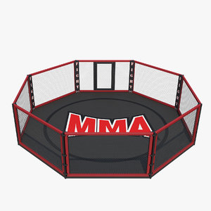 3D mma cage