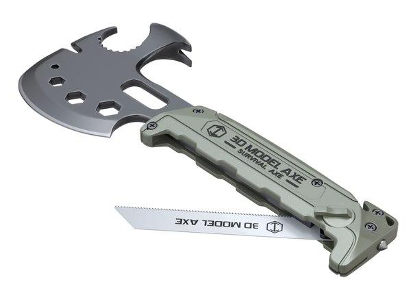 ax axe tactical 3D