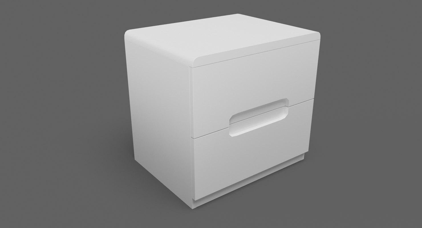 3D bedside table 06