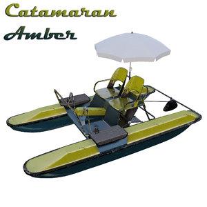 catamaran water bicycle yantar model
