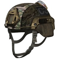 Ballistic Combat Helmet Low polygon model