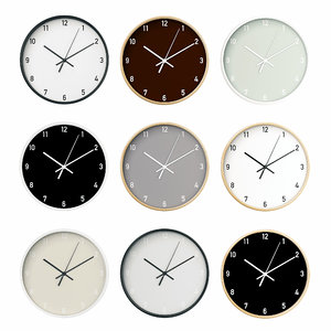 wall clock set 01 3D