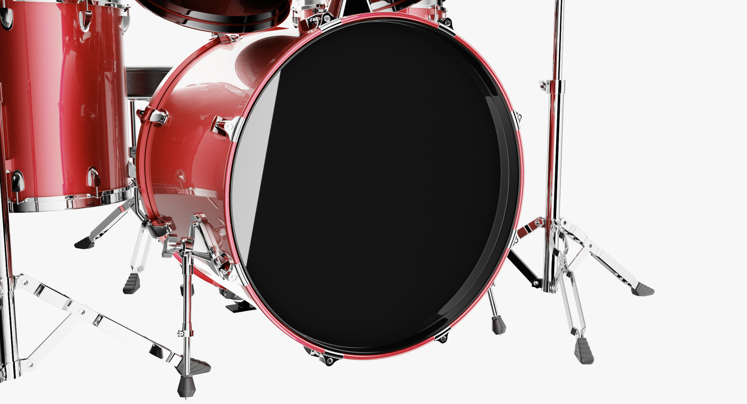 drums cymbal 3D