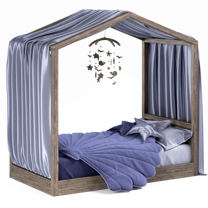 bed hygge 3D