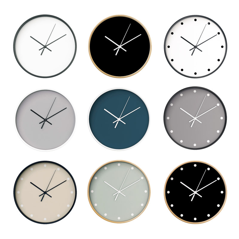 3D wall clock set 04