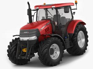 case puma tractor 3D