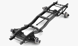 dually pickup truck chassis model