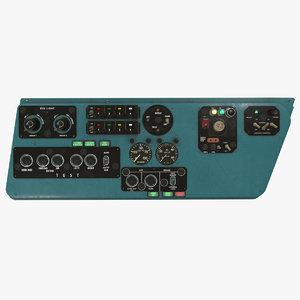 left console mi-8mt mi-17mt 3D
