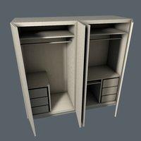 cupboard interior games 3D model