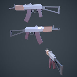 3D stylized weapons 30 games