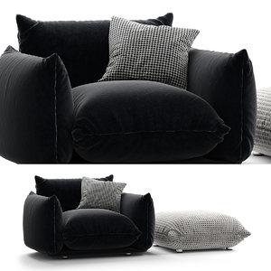 3D marenco sofa