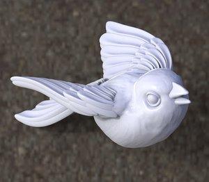 wings feathers model