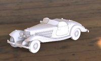 mercedes 540k 3D