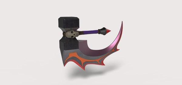blade basher dota model