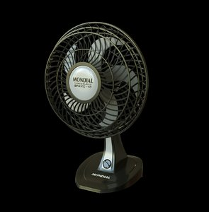 fan modeled 3D