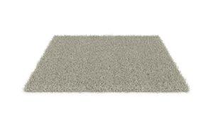 3D soft carpet long pile