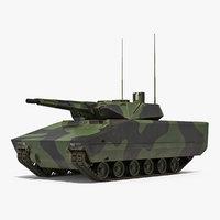 ifv lynx kf41 camo 3D model