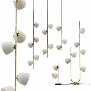 moira furstenberg collections pendant lamp 3D model