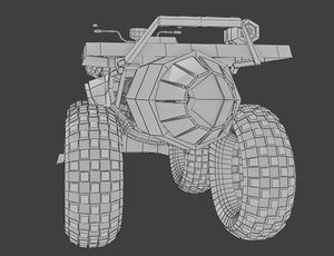 quadcrusher atv 3D