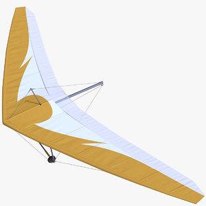 3D hang glider