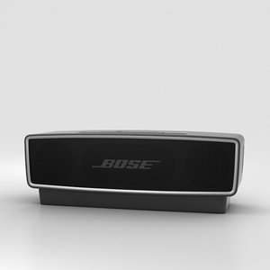 3D bose soundlink mini model