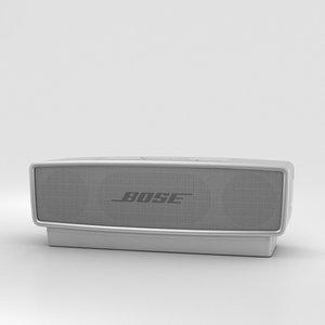 3D bose soundlink mini