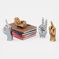 3D figurine hand set table model