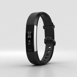 fitbit alta hr 3D model