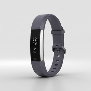 3D fitbit alta hr model