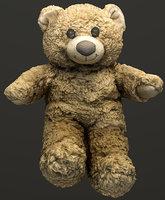 photogrammetry teddy bear model