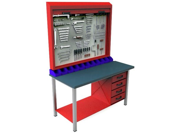workbench work bench 3D model