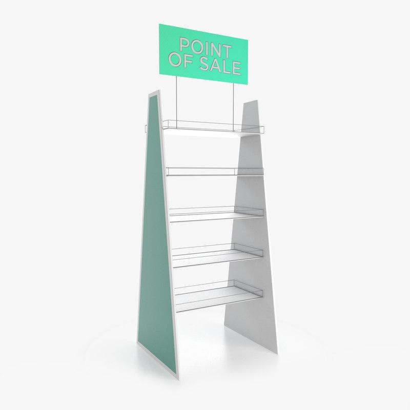 display rack 3D