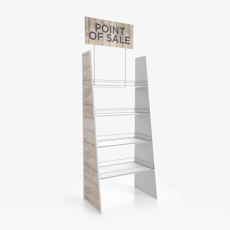 display rack 3D model
