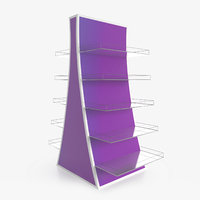 3D display rack